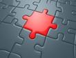 rotes puzzleteil