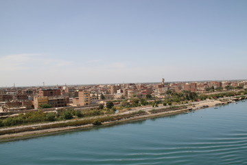 Suez Kanal in Ägypten