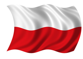 The Republic of Poland Flag