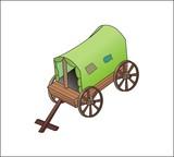 carriagem hearse, waggon, coach