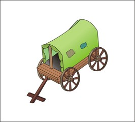 carriagem hearse, waggon, coach