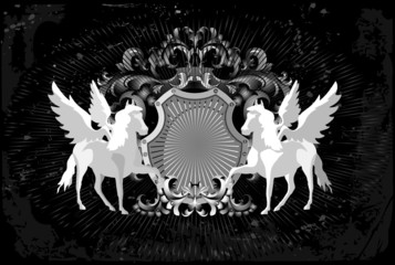 Horses and wings