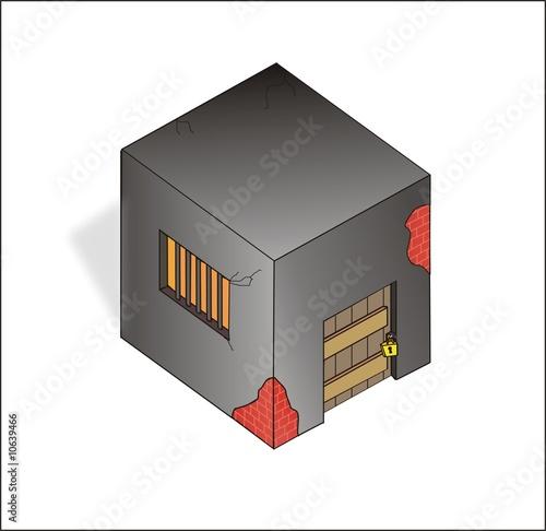 the prison, building,