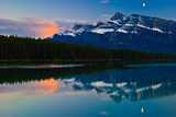 Sunset in Banff