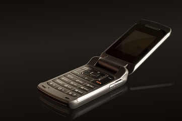 telefono movil negro