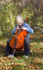 Child Pizzicato Cello