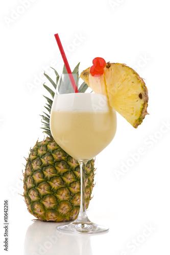 Rum Cocktails - Pina colada