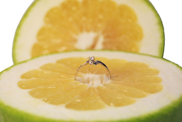 ring in fruit