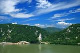 Danube river poster
