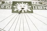meridiana con il sole poster