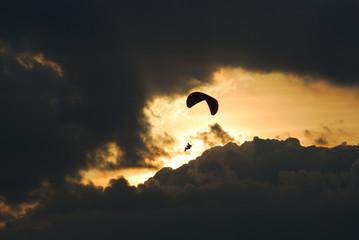 Flight in twilight