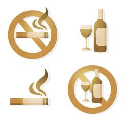 drink & smoke