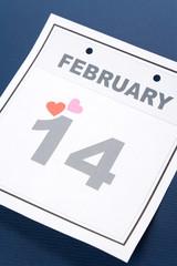 Calendar Valentine's Day