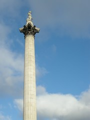 Nelson's Column at Trafalgar Square, London