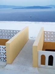 Dachterrasse mit Inselblick