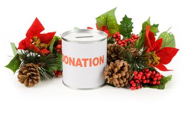Christmas donation