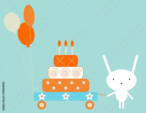 Obraz Bunny birthday