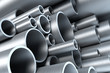 stack of steel tubing - 10666816