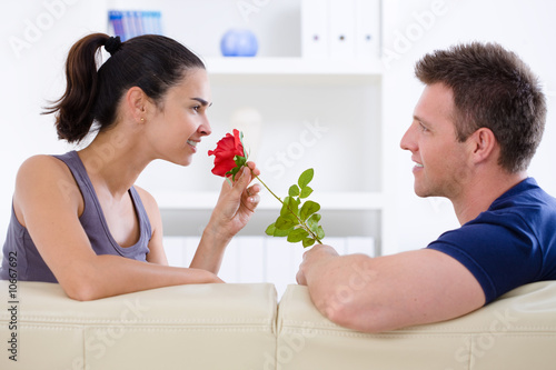 Love couple - rose