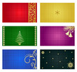 Business cards, greeting cards, gift tags 3 x 2.5 templates