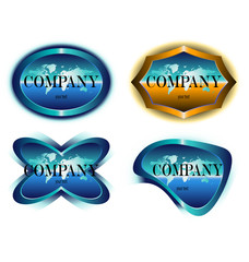 company label design