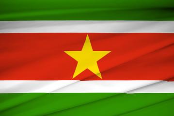 national flag of suriname