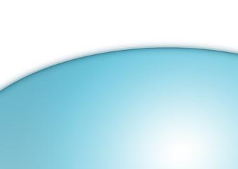 Abstrakter Hintergrund in weiß-türkis