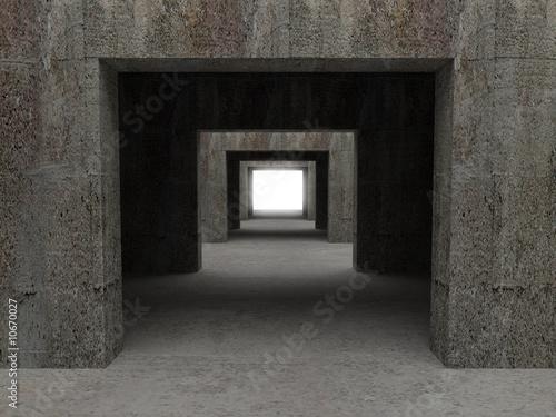 tunnel background