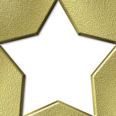 estrella fondo blanco
