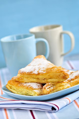 Apple turnovers pastries