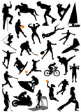 collection of sports vector 5