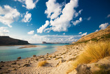Fototapety balos beach, crete, greece