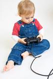 jeux vidéo console dépendance accro addiction drogue enfant poster
