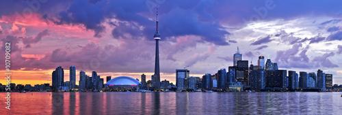 In de dag Toronto Toronto skyline