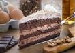 Detaily fotografie dort čokoládovou 1