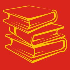 Bücherstapel 10001