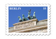Berlin Quadriga Briefmarke