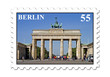 Berlin Brandenburger Tor Briefmarke