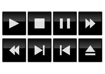 Icons - black design