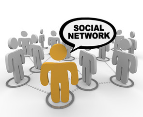 Social Network - Speech Bubble