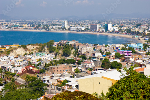 Overlooking Mazatlan Mexico