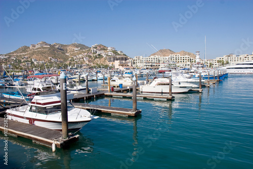 Small harbor in Cabo San Lucas