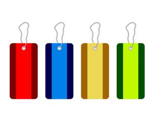 labels, etiquettes - vector