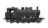 Steam locomotive cutout poster
