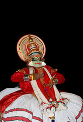 Kathakali tradional dance actor
