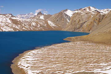 High-mountainous lake Tilicho