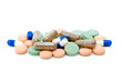 Pile of various pills and tablets