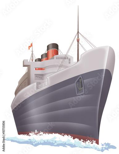 Leinwandbild Motiv ship