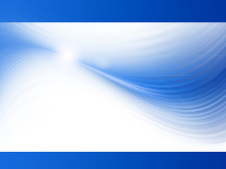 blue presentation