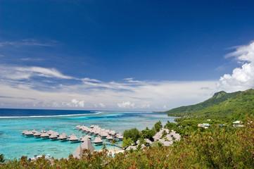 Moorea, Tahiti's sister island, French Polynesia